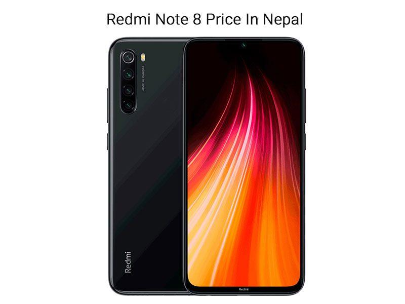 Redmi Note 8 Price In Nepal 2020