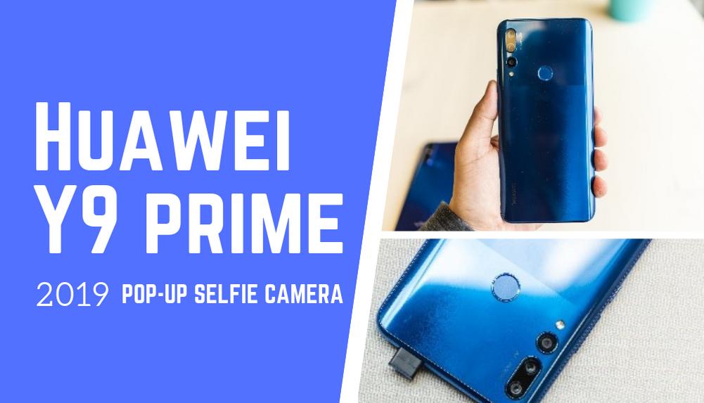 Huawei Y9 Prime Nepal | Pop-up Selfie Camera | Huawei Nepal