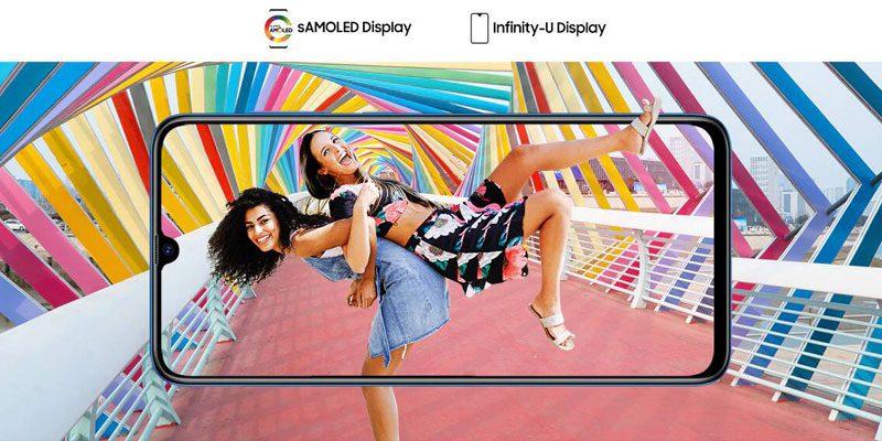 Samsung Galaxy A70 Display