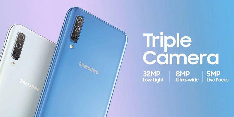 Samsung Galaxy A70 Camera
