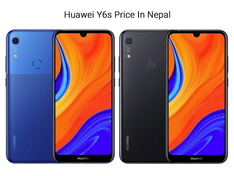 Huawei Y6s Price In Nepal 2020