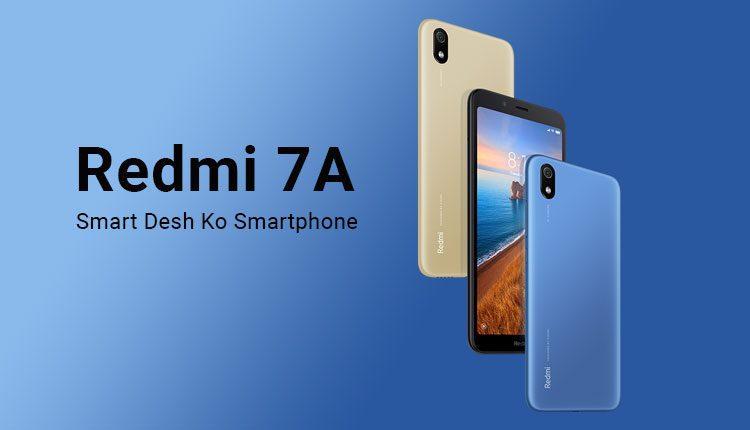 Redmi 7A Price In Nepal