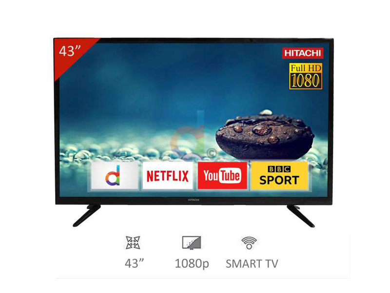 "Hitachi 43"" Smart TV"