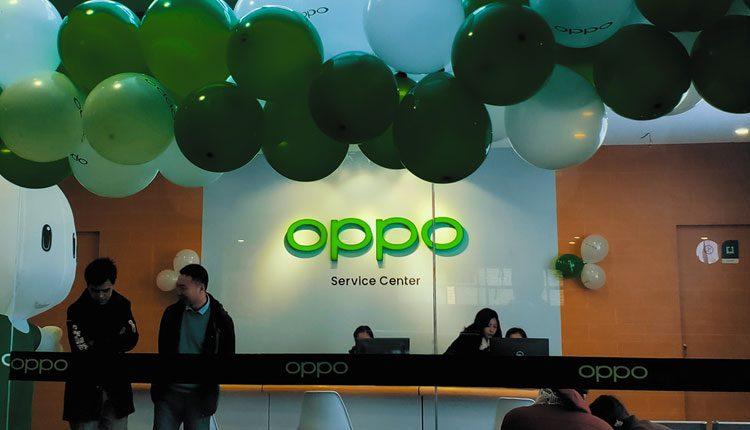 Oppo service center in Nepal