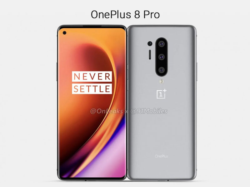 OnePlus 8 Pro CAD Render Image