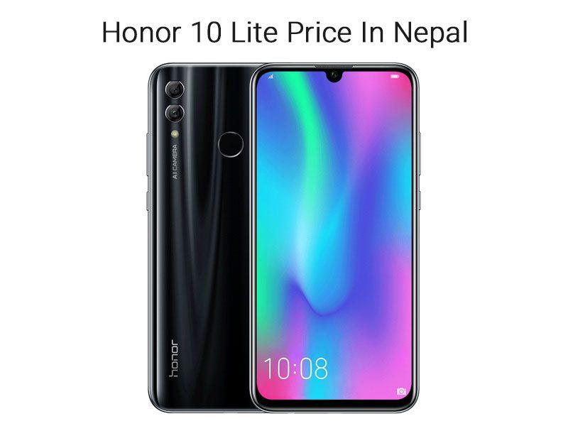 Honor 10 Lite Price In Nepal 2020
