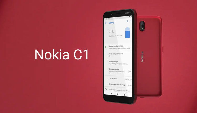 Nokia C1 Price In Nepal