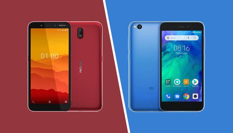 Nokia C1 Vs Redmi Go