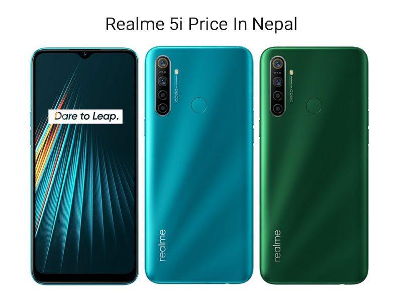 Realme 5i Price In Nepal 2020