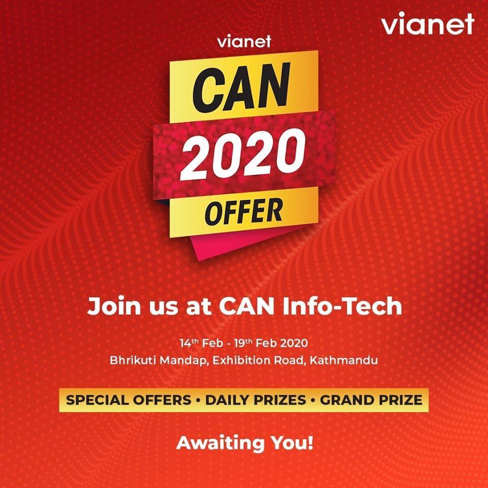 Vianet Offer CAN Info-Tech 2020