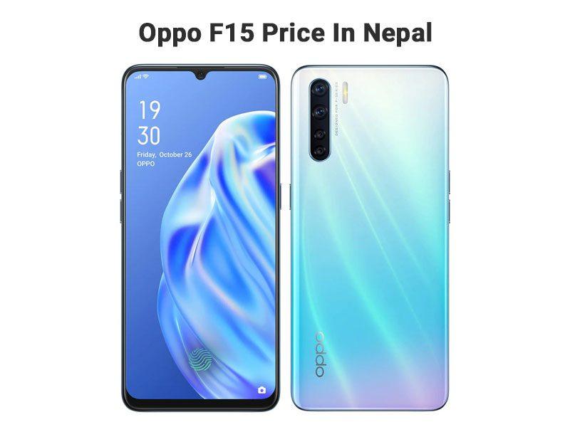 Oppo F15 Price In Nepal