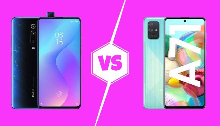 Redmi K20 Pro vs Samsung Galaxy A71