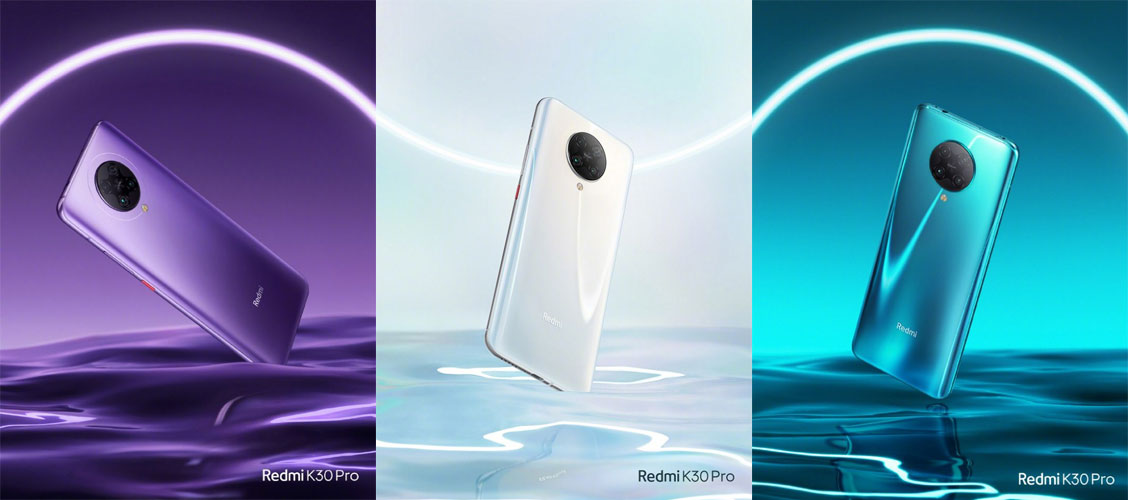 Redmi K30 Pro color options
