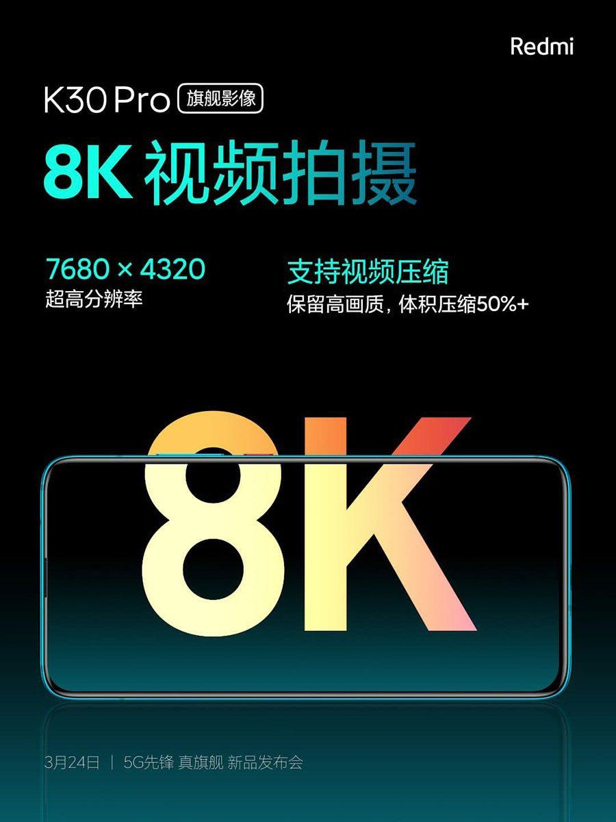 Redmi K30 Pro Camera feature