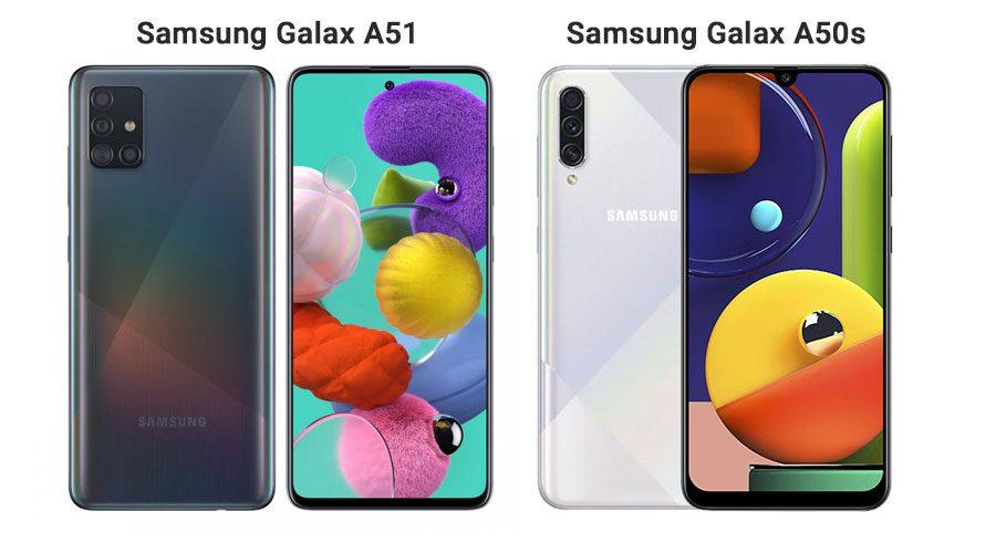 Samsung Galaxy A50s vs Galaxy A51
