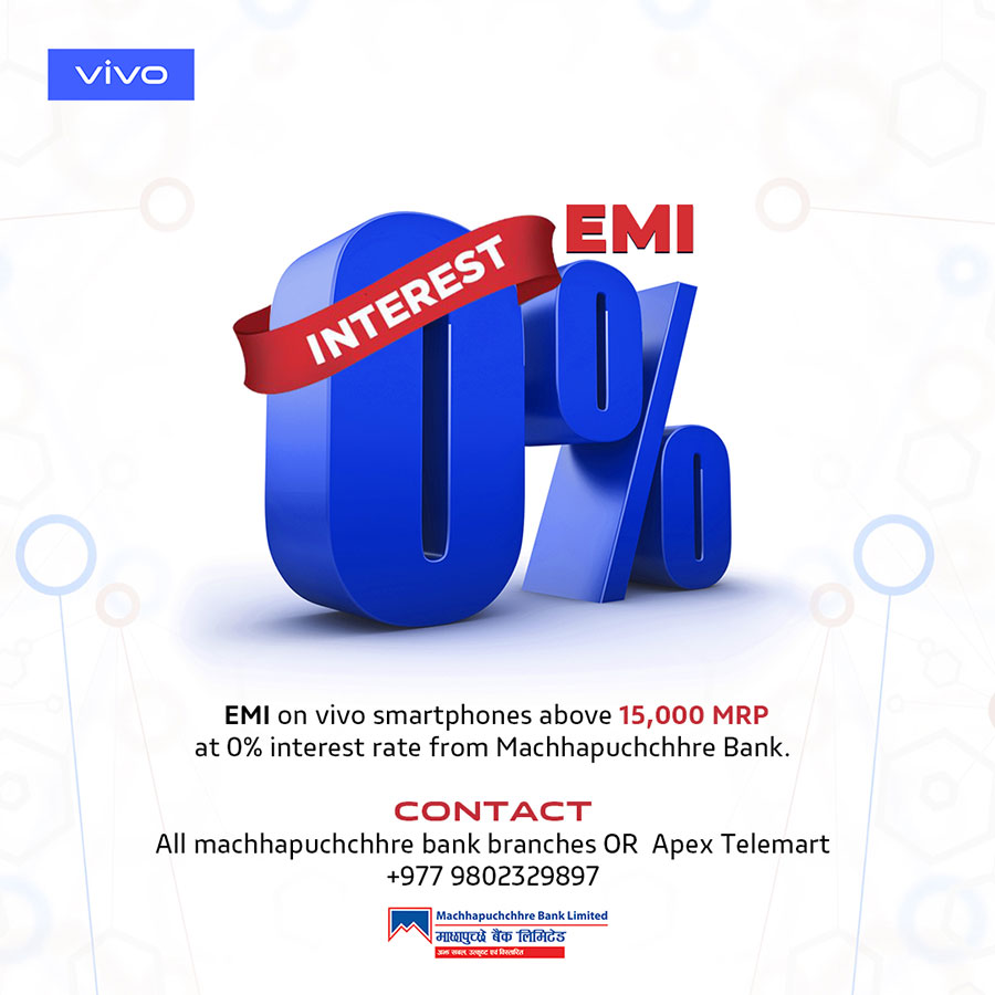 vivo Smartphone EMI Service In Nepal