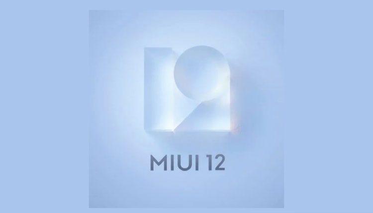 MIUI 12 update for xiaomi smartphone