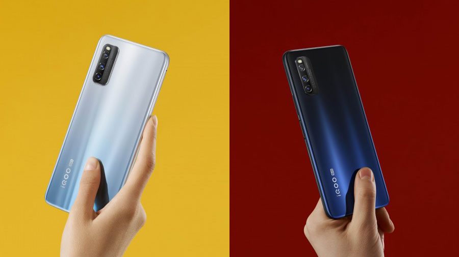 Official images of iQOO Z1