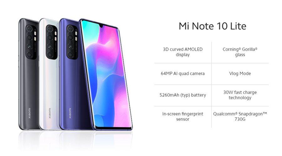 Mi Note 10 Lite Price In Nepal