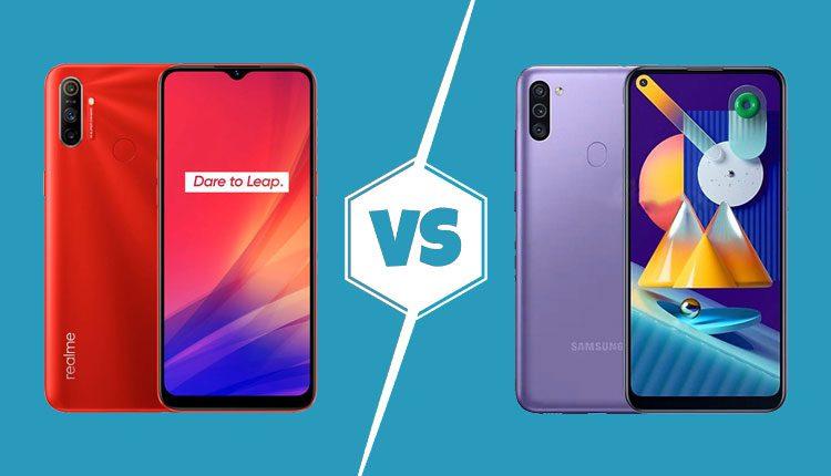Realme C3 vs Samsung Galaxy M11