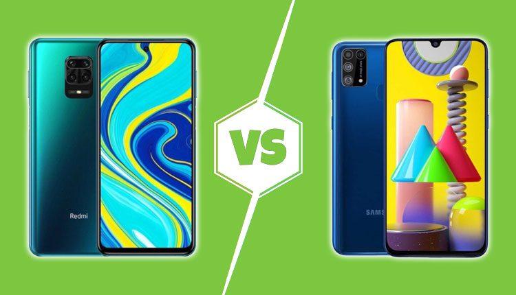 Redmi note 9 Pro vs Samsung Galaxy M31