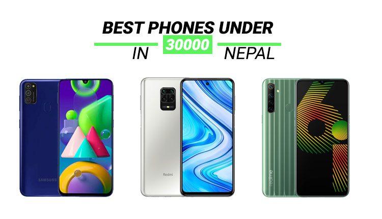 Best smartphone under 30000 in Nepal