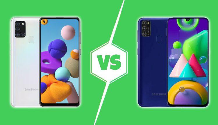 Samsung Galaxy A21s vs Galaxy M21