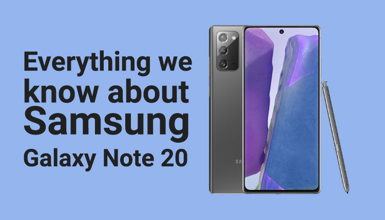 Samsung Galaxy Note 20 Price In Nepal