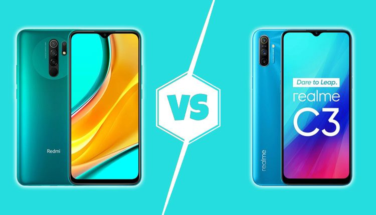Redmi 9 vs Realme C3