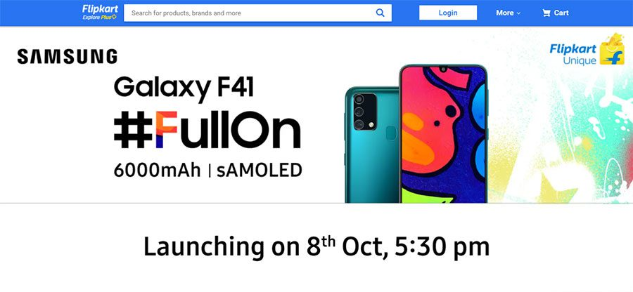 Samsung Galaxy F41 Price In Nepal