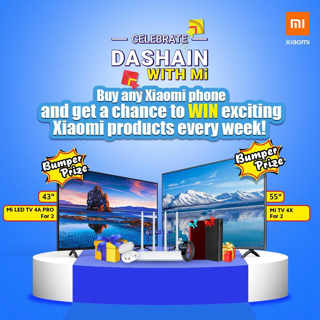 Xiaomi Nepal Dashain Offer 2077