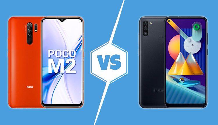 Poco m2 vs galaxy m11