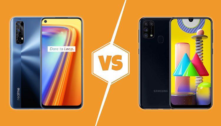 Realme 7 vs Galaxy M31