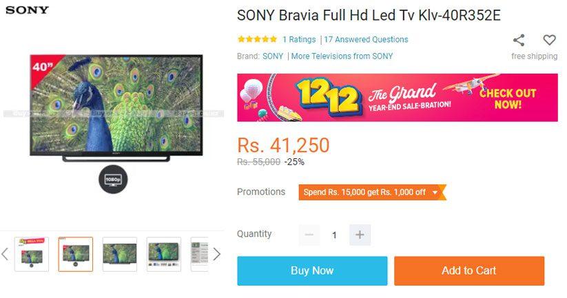 Sony bravia tv price in nepal