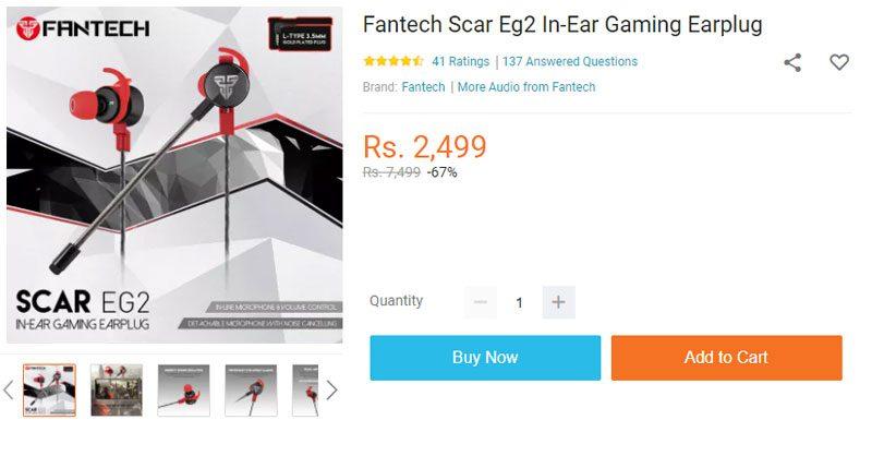 fantech gaming earphone price in nepal