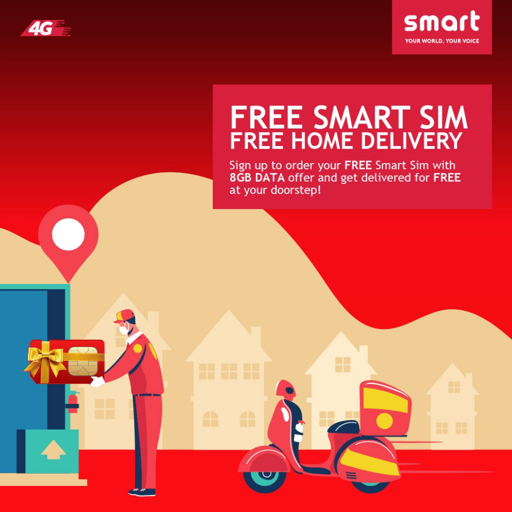 Smart cell free sim card delivery