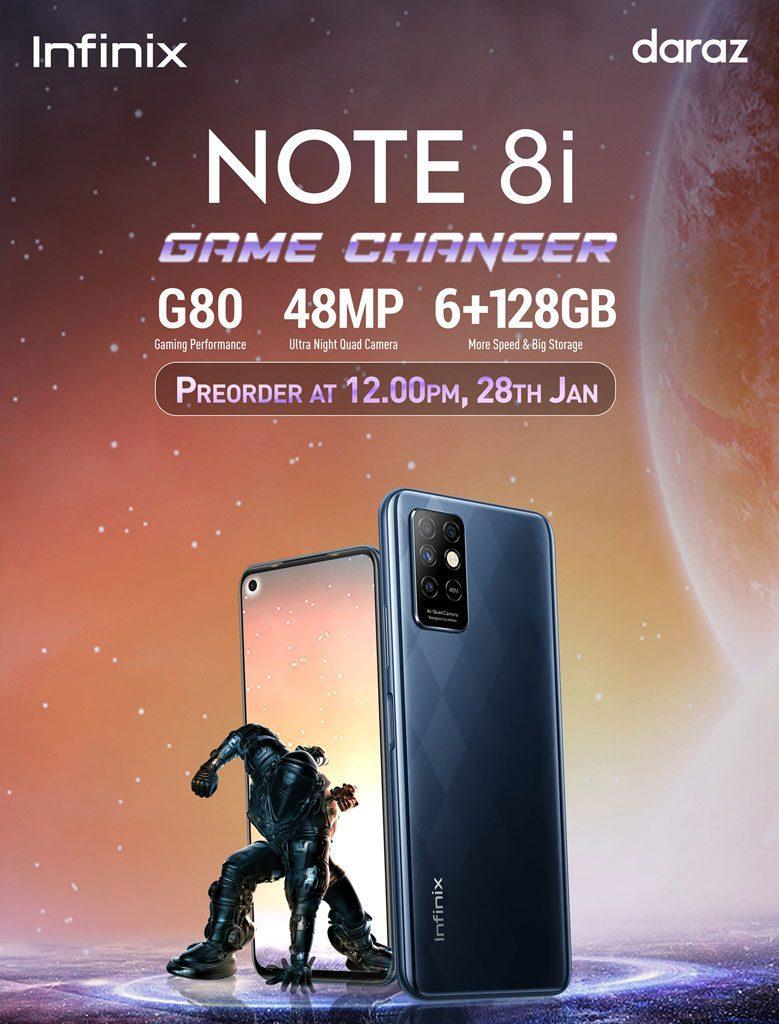 infinix note 8i price in nepal