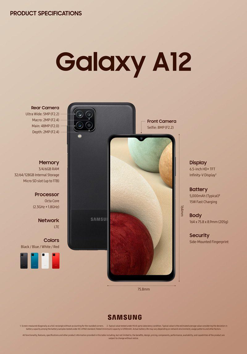 samsung galaxy a12 price in nepal