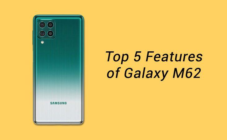 samsung galaxy m62 features