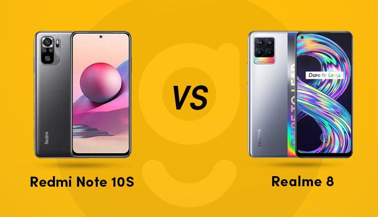 redmi note 10s vs realme 8