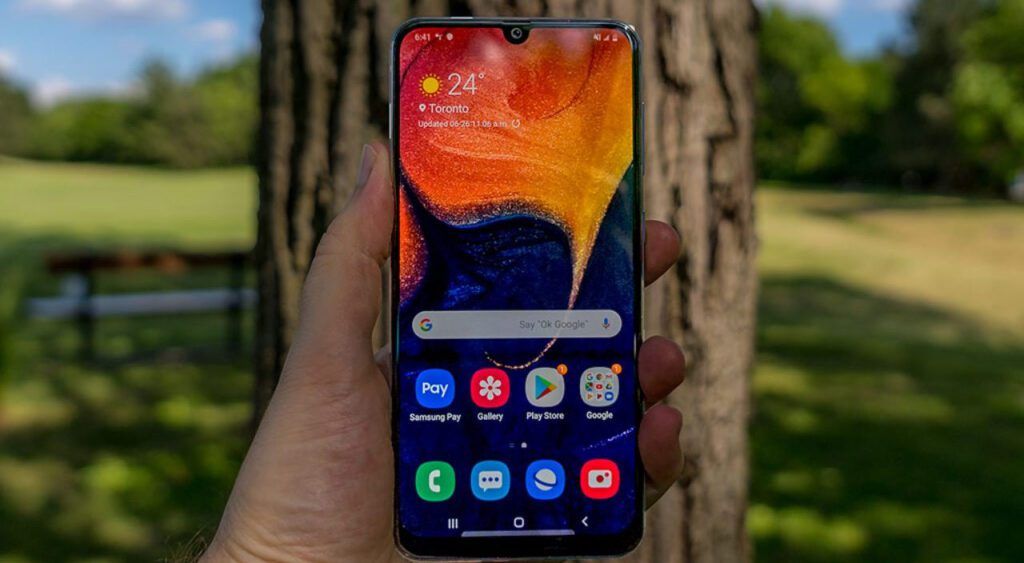 Galaxy a22 features