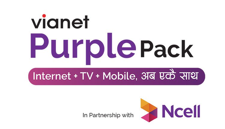 Vianet launches Purple Pack Offer in collaboration with Ncell