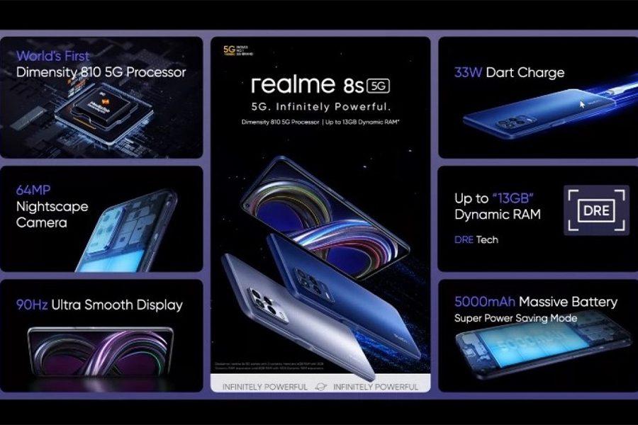 Realme 8s 5G Price in Nepal